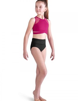 Bloch Bloch Diamond Heart Floch Mesh High Waist Brief FR5065C