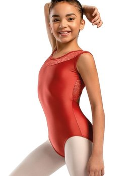 So Danca So Danca Mesh Keyhole Back Tank Leotard L-1599
