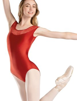 So Danca So Danca Lace Sleeve Keyhole Back Leotard RDE-1841