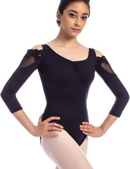 So Danca So Danca Cold Shoulder Lace Leotard RDE-1843