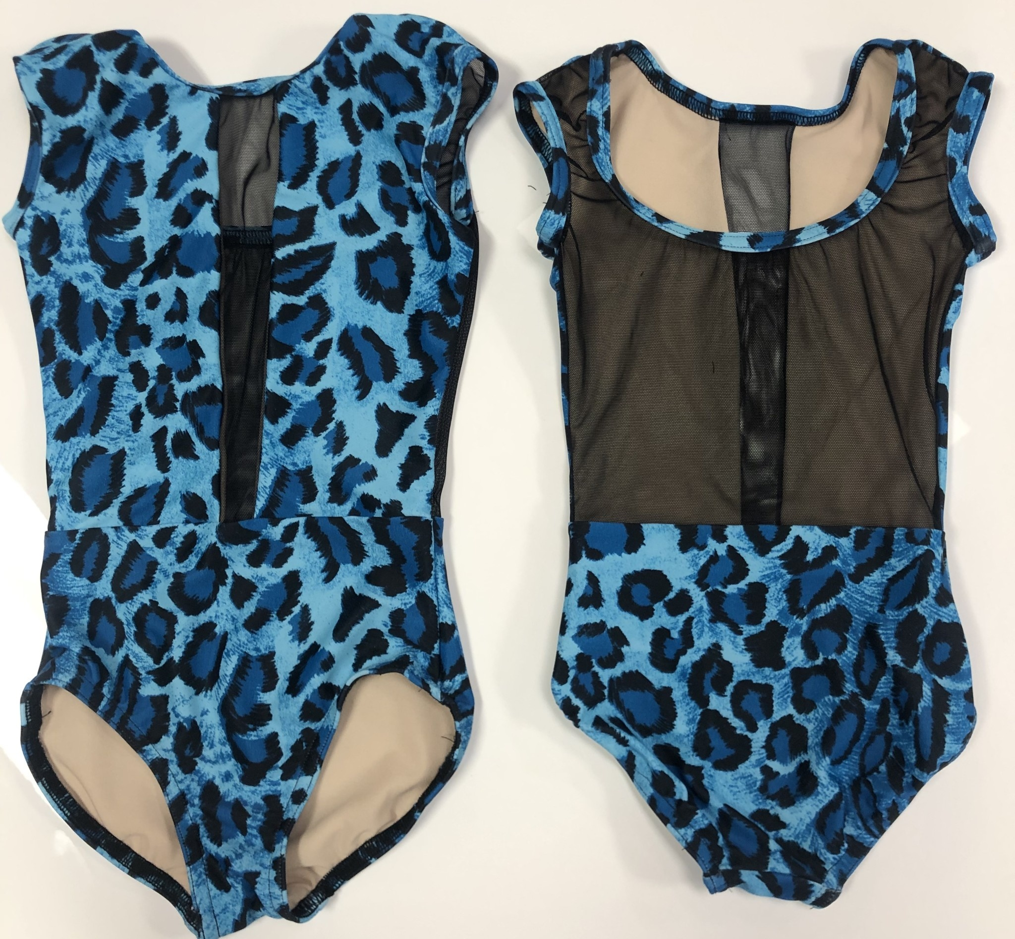 BP Designs Blue Leopard Caroline Leotard