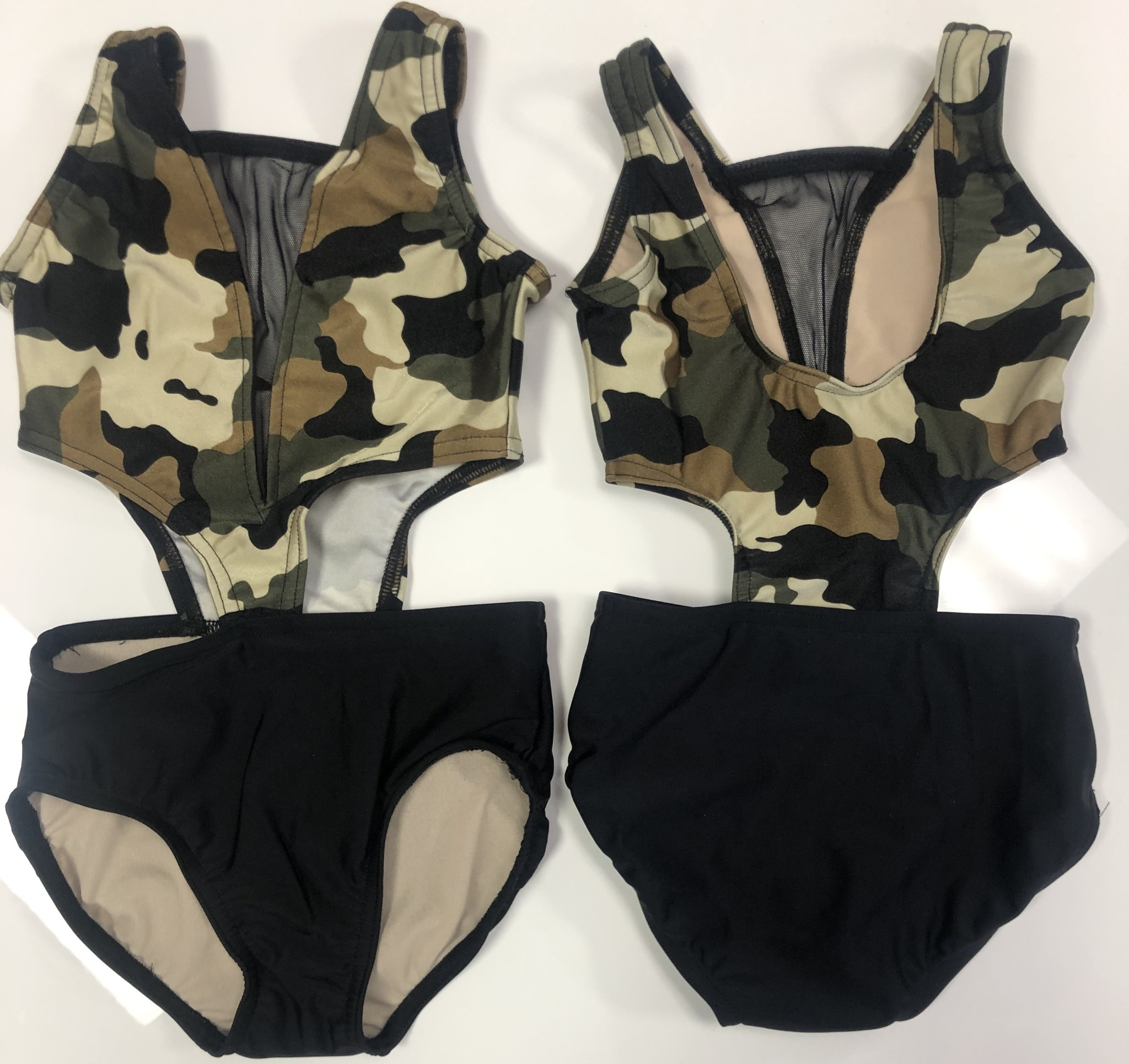 BP Designs Camo Trixie Leotard
