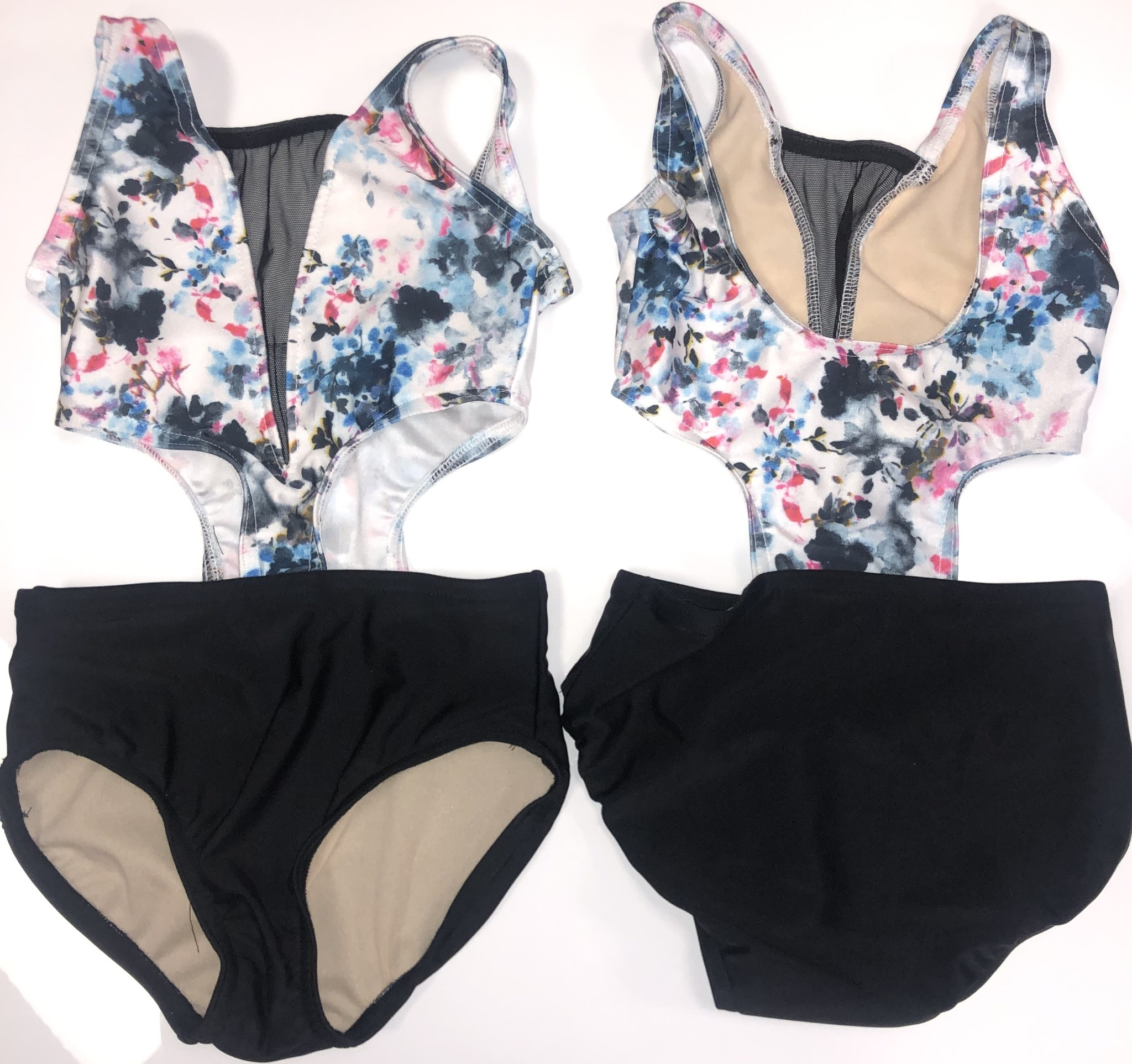 BP Designs Floral Trixie Leotard