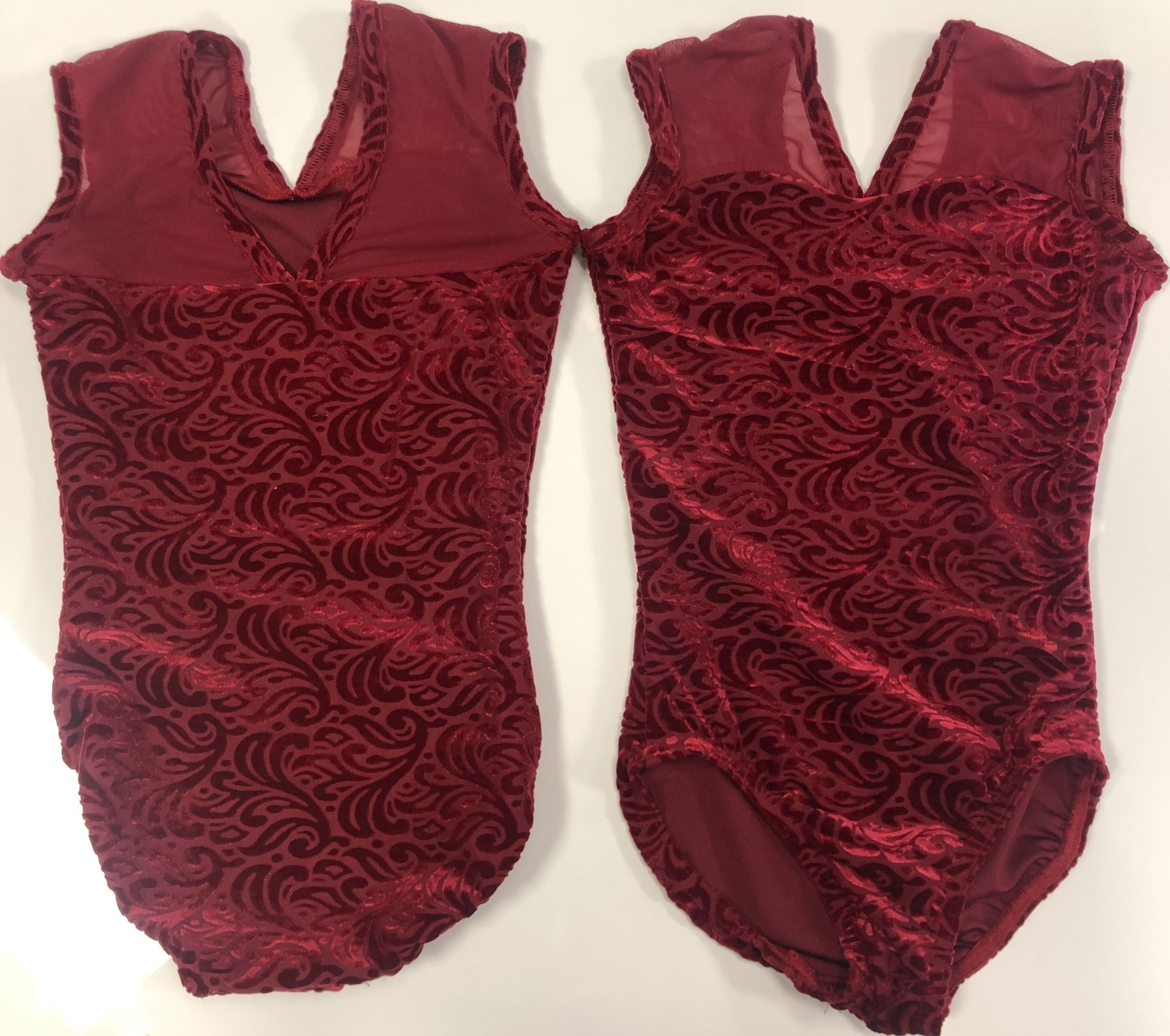 BP Designs Red Boutique Velvet
