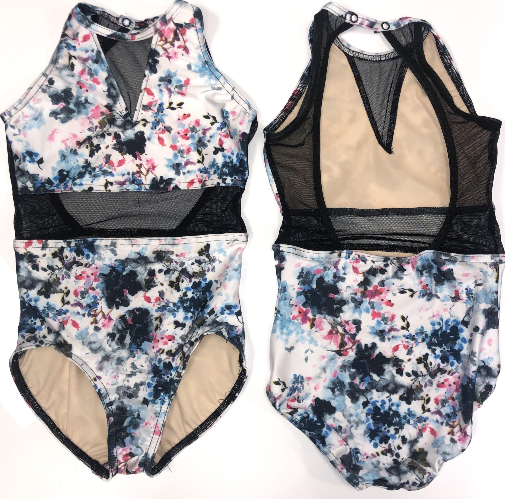 BP Designs Lauren Floral Leotard