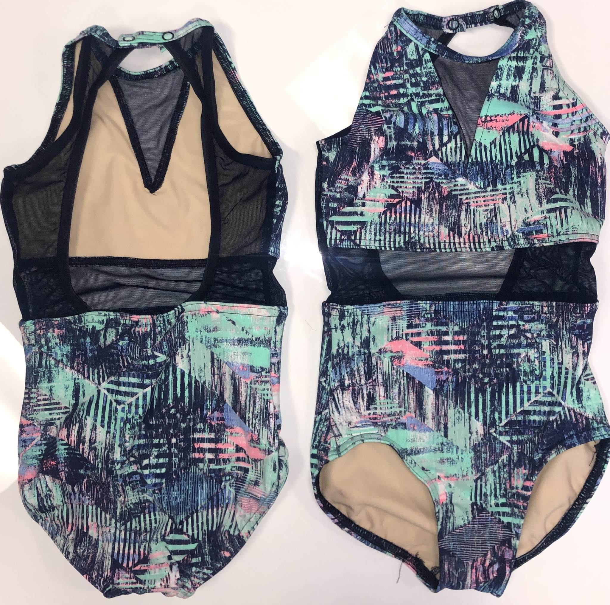 BP Designs Vertical Edge Lauren Leotard