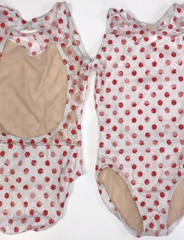 BP Designs Sweetheart Lace Polka Dot Leotard BP Designs