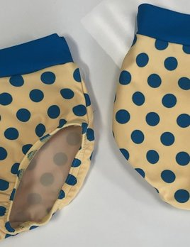 BP Designs Yellow with Blue Polka Dots Brief
