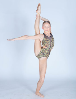 BP Designs Snake Skin Michelle Leotard