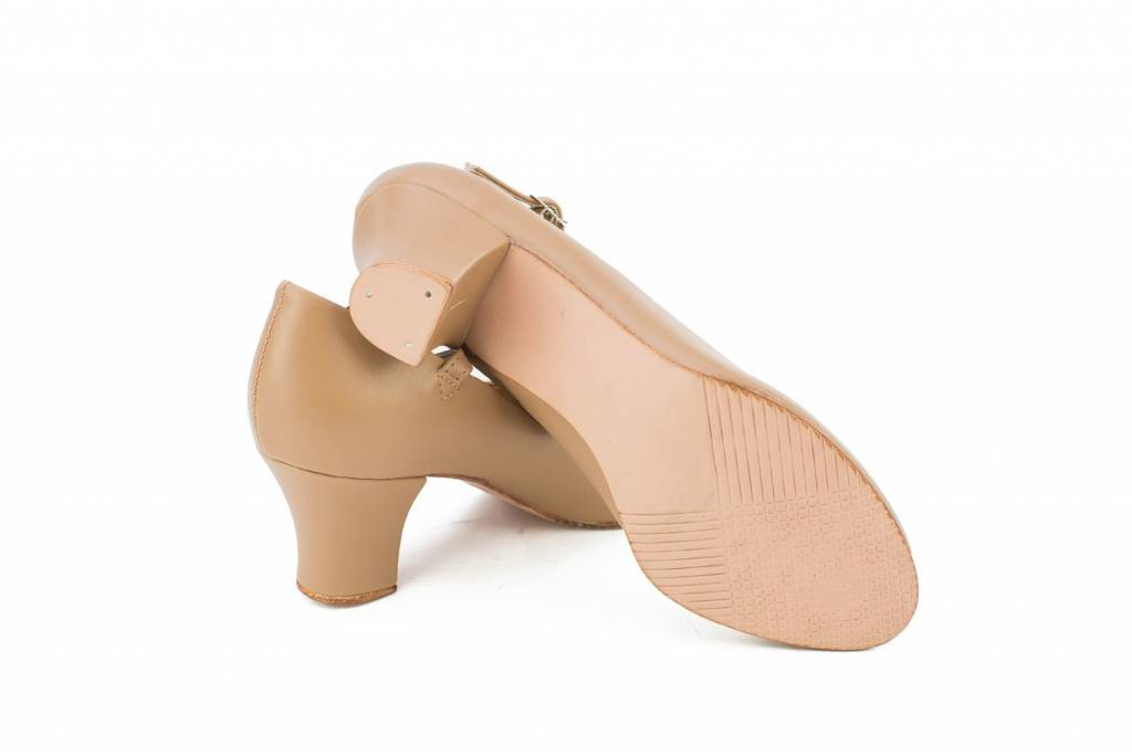 Adult 9.5, Tan So Danca CH52 2 Character Shoe