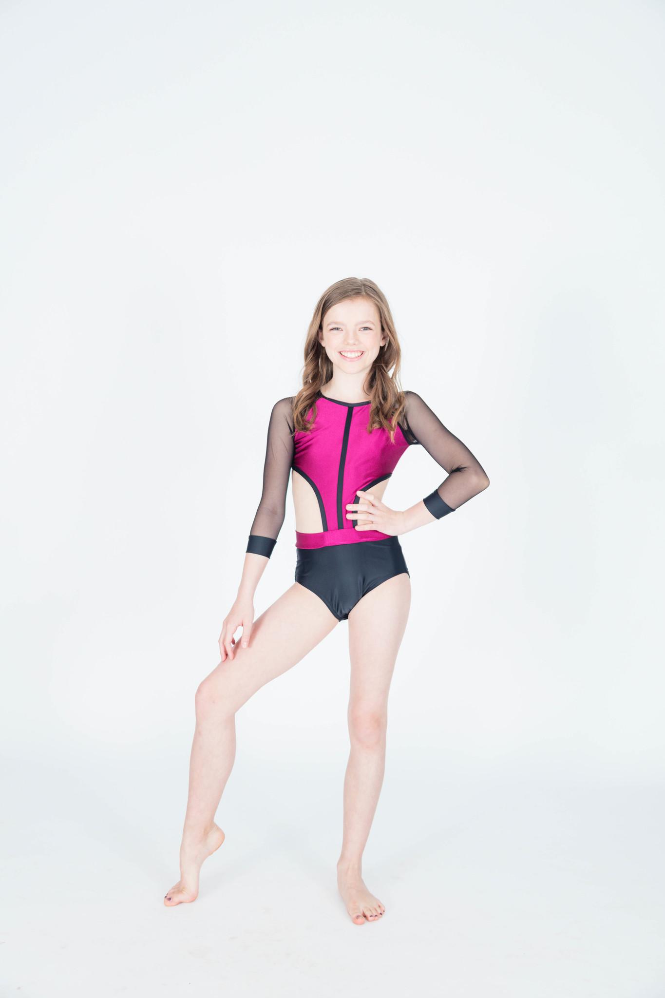 Olivia Sangria Leotard BP Designs