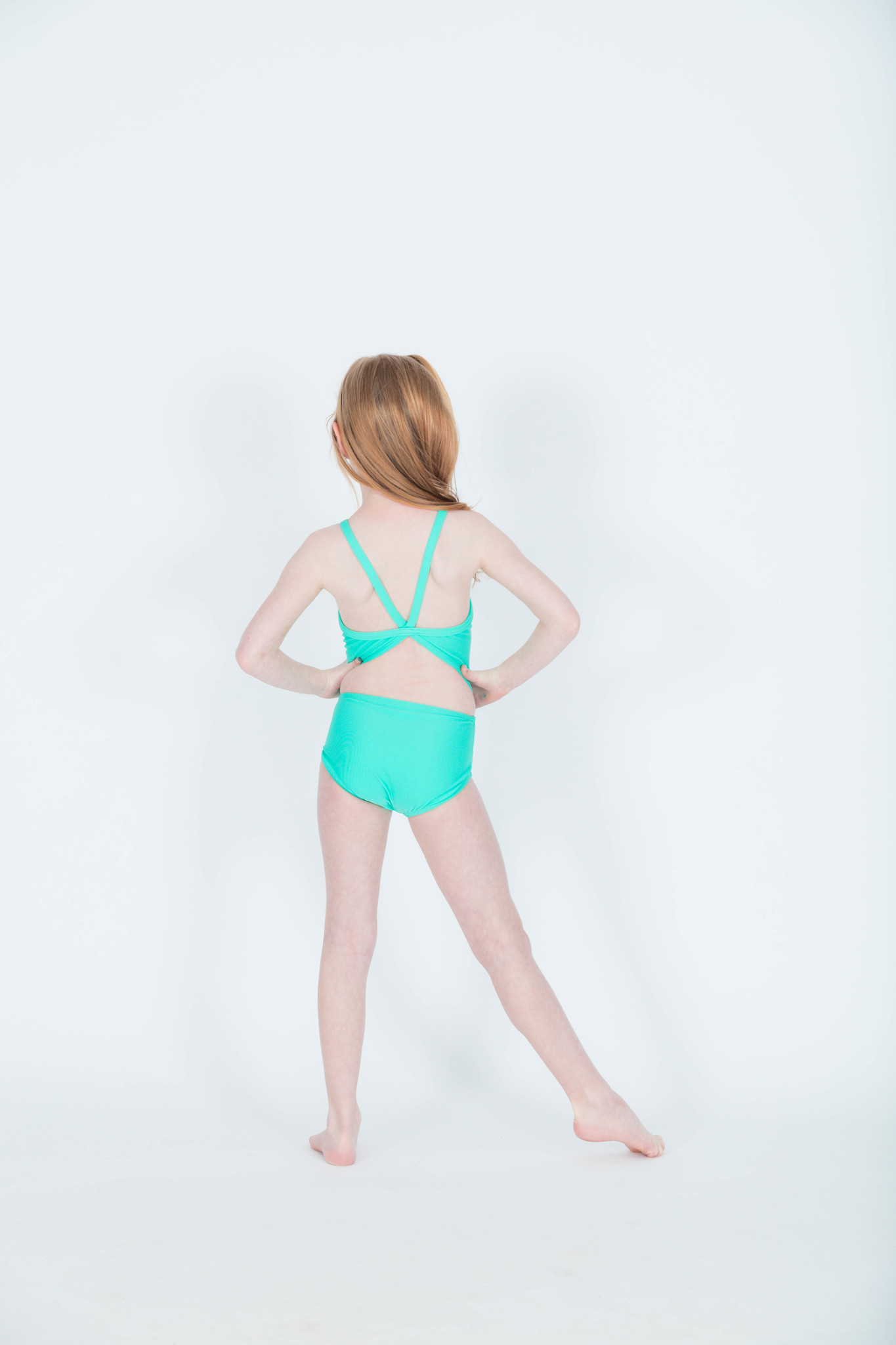 BP Designs Mint Cassie Leotard 73340