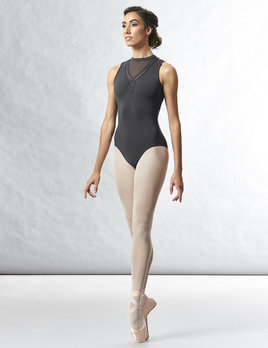 Bloch Motif Neckline Loop Back Leotard L8755