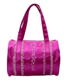 Horizon Dance Horizon Pink Ruffle Duffel 1418