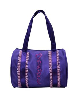Horizon Dance Horizon Purple Ruffle Duffel