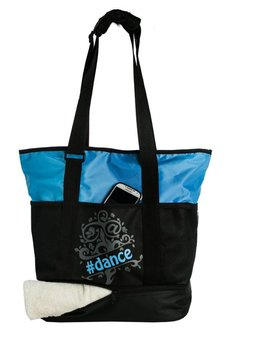 Horizon Dance Horizon Blue Tweet Tote