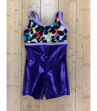 BP Designs Rainbow Cheetah Melanie Biketard BP Designs