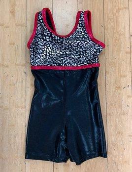 BP Designs Silver/Black Cheetah Melanie Biketard BP Designs
