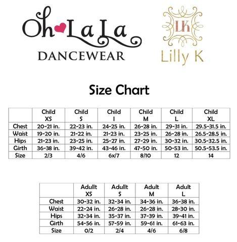 Oh La La Dancewear Oh La La Stamina Top LK402