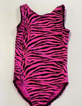 BP Designs Neon Pink Zebra Gym Leo BP Designs