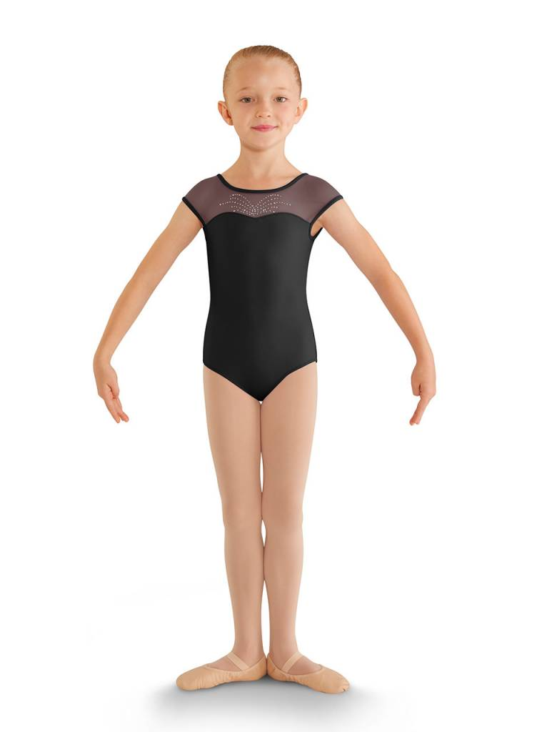 abda59949cfc BLOCH FOUNTAIN SPRAY DANCE LEOTARD CL8812 - Black and Pink Dance Supplies,  Tulsa