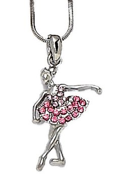 Dasha Designs Ballerina Necklace by Dasha Designs