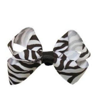 Dasha Designs Dasha Zebra Bow 3937