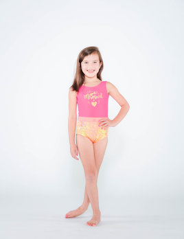 BP Designs Coral Mermaid at Heart Leotard BP Designs