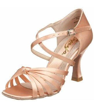 Capezio Capezio Lucia Ballroom Shoe BR122s - Camel
