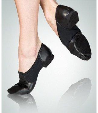 Body Wrappers Neoprene Seamless Split Sole Jazz Shoe 403A