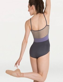 Body Wrappers Body Wrappers Adult Mesh Back Insert Leotard P1012