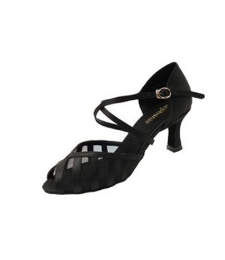 "Stephanie Dance Stephanie Dance Open Toes Strappy 2"" Ballroom shoe 12049-15"