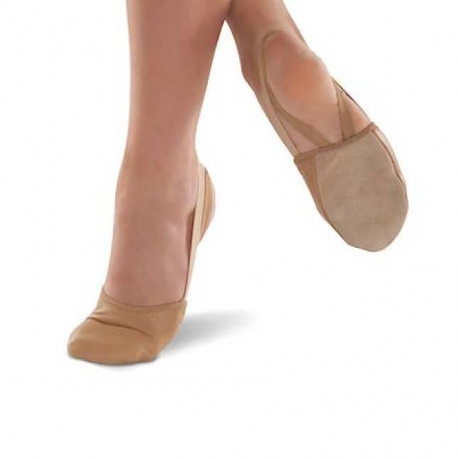 Danshuz Danshuz Tan Half Ballet Shoe 363