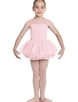 Bloch Bloch Sweetheart Floral Cap Sleeve Tutu Leotard CL8742