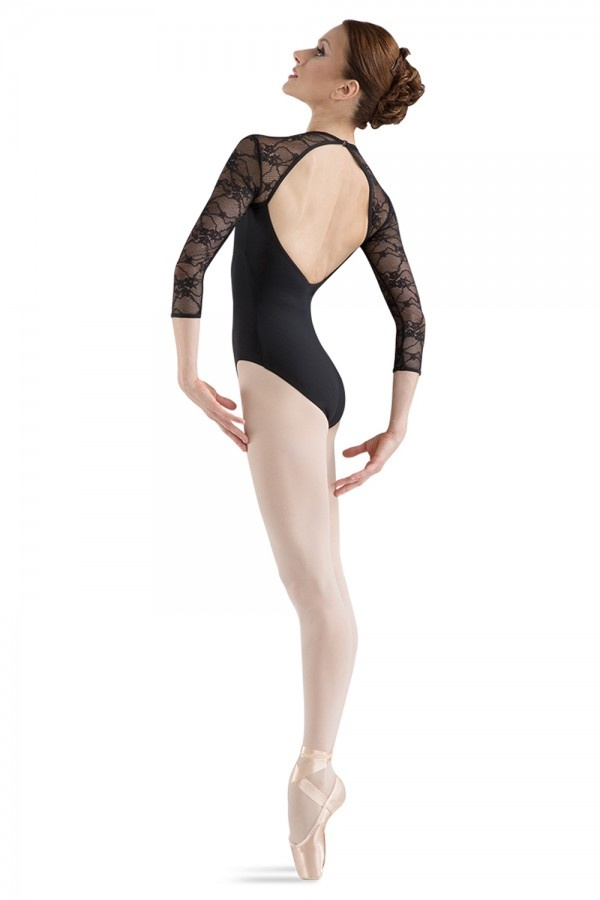 Bloch BLOCH LACE 3/4 SLEEVE LEOTARD L6016
