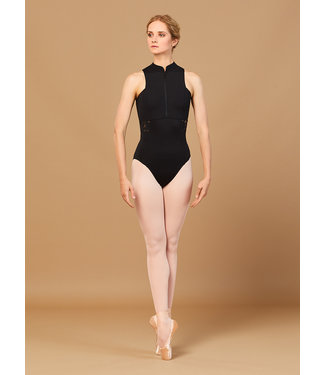 Bloch Bloch High Neck Zip Front Halter Leotard L5550