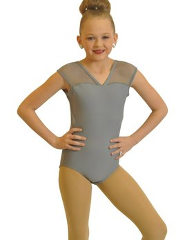 BP Designs Bp Designs Mesh Cap Sleeve Leotard