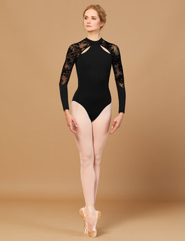 Bloch Bloch Floriade Mesh Long Sleeve Leotard L7839