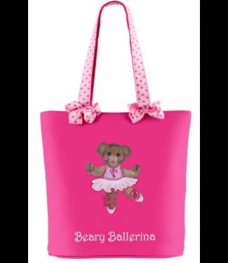 Sassi Designs Sassi Designs Beary Ballerina Tote BBR-01