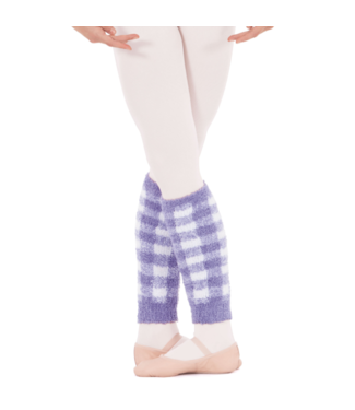 "EUROTARD Eurotard 12"" Plush Plaid Legwarmer 72526c"