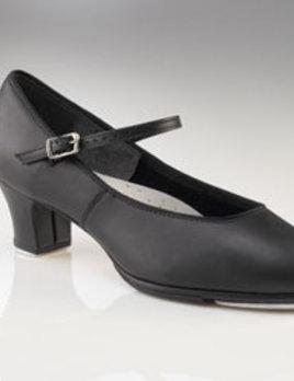 """Capezio Capezio® 1.5"""" Adult Jr. Footlight™ Leather Tap Shoe 561"""
