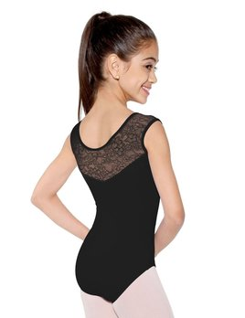 So Danca D573 So Danca Black Mesh Tank