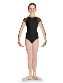 Bloch Bloch Zip Back Cap Sleeve Leotard CL7862