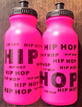 CJ Merchantile g331 Hot Pink Hip Hop Bottle 20oz