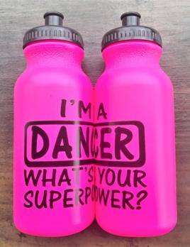 CJ Merchantile g332 Hot Pink Superpower Bottle 20oz
