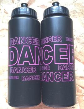 CJ Merchantile g251 Black/Hot Pink Dancer 32oz
