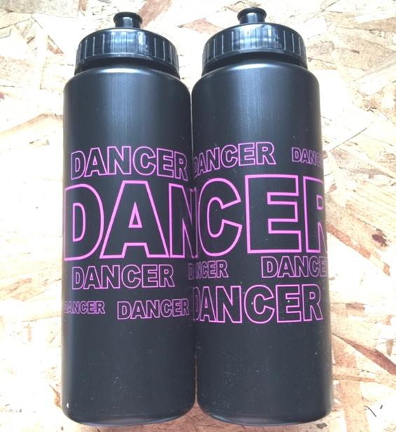 CJ Merchantile g251 Black/Hot Pink Dancer 32oz