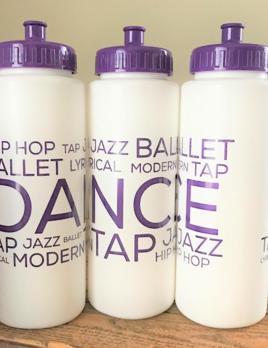 CJ Merchantile g322 White/Purple Dance Bottle 32oz