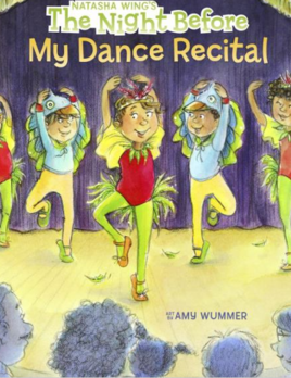 CJ Mercantile The Night Before My Dance Recital Book 21978