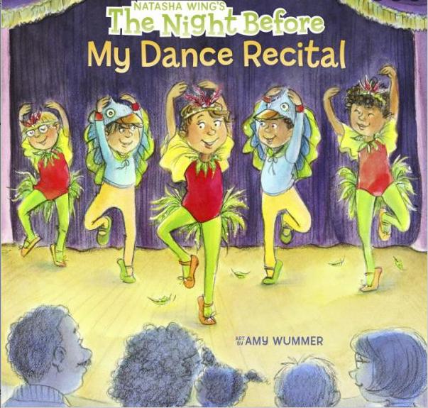 CJ Mercantile The Night Before My Dance Recital Book 21978